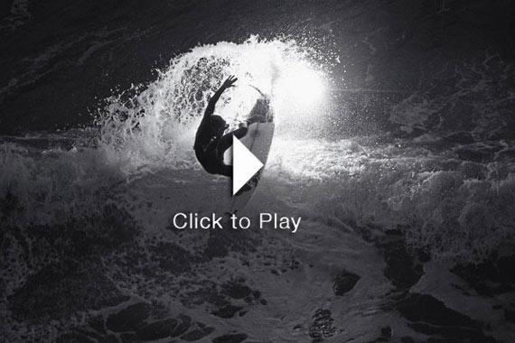 Night Surfing, el placer de surfear de noche.