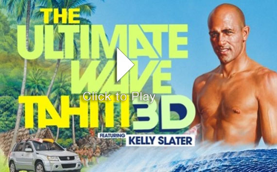 The Ultimate Wave Tahití 3D. La nueva pelicula de Kelly Slater