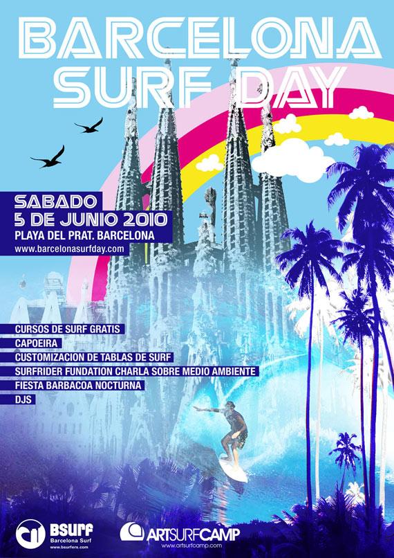Artsurfcamp y Bsurfers os invitan al evento Barcelona Surf Day