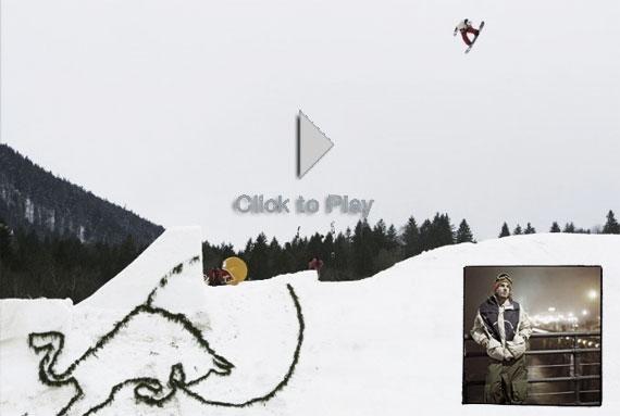 Travis Parker, la originalidad en el Snowboard