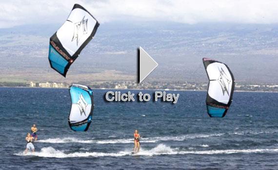 Naish Kite, las últimas cometas de kitesurf de Damien Girardin