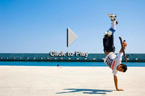 Kilian Martin, un Pro del Freestyle Skateboard