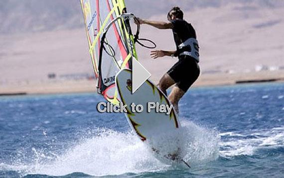 Windsurf en Dahab