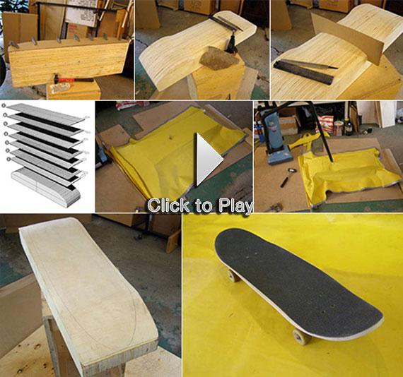 Como se hacen las tablas de Skateboard