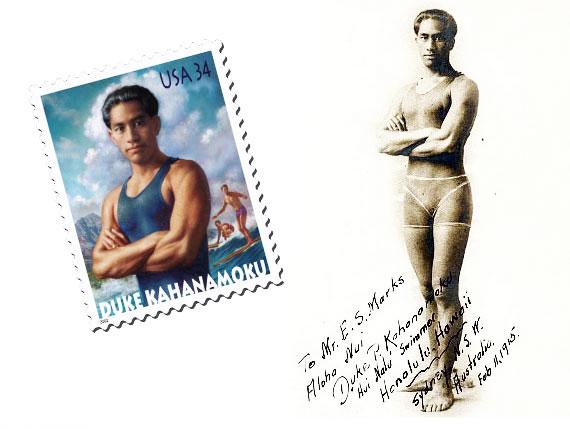Duke Kahanamoku, el inventor del surf moderno