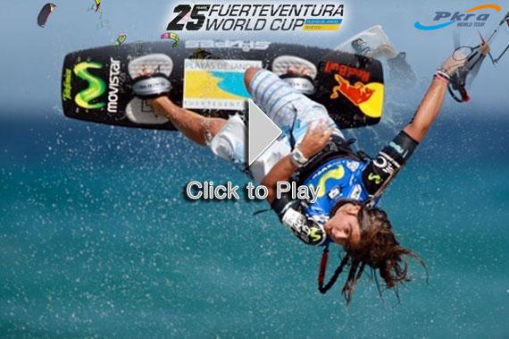 Mundial de KiteSurf Championships en Fuerteventura