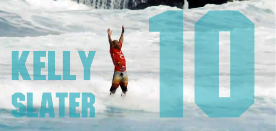 Un 10 para Kelly Slater