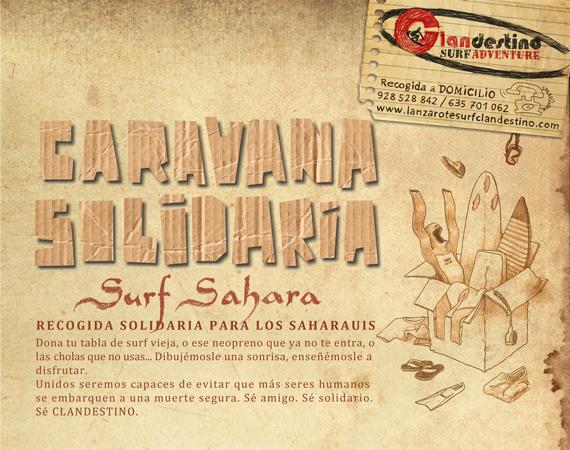 Caravana Solidaria, Surf Sahara
