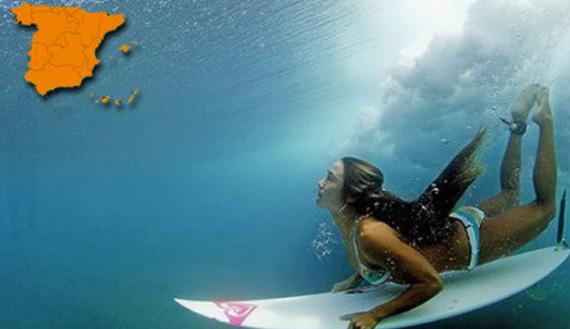 España destaca entre los Destinos de Surf preferidos