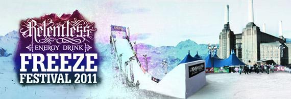 El Relentless Freeze Festival ya está aquí