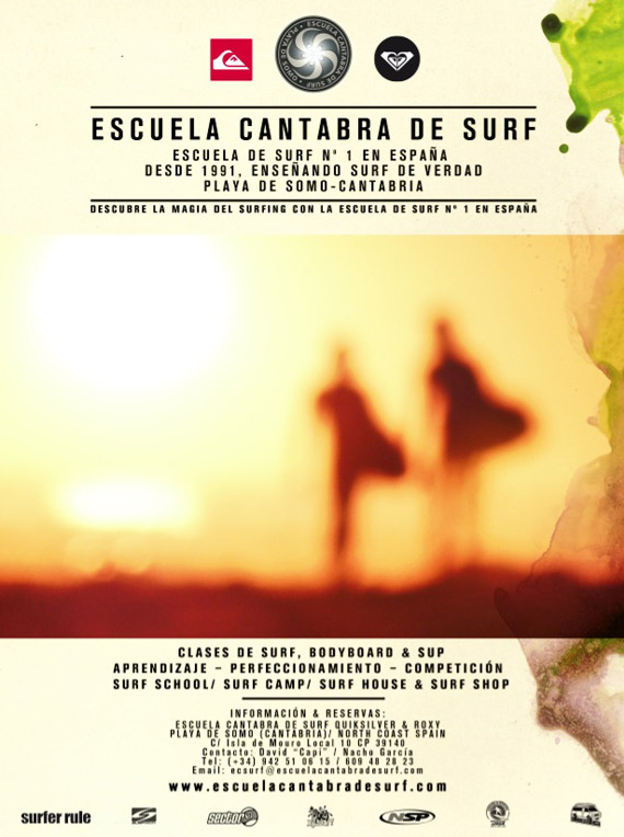 Escuela Cantabra de Surf Quiksilver & Roxy 22