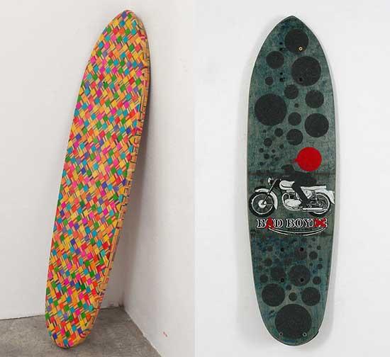 Tablas de surf hechas con arte