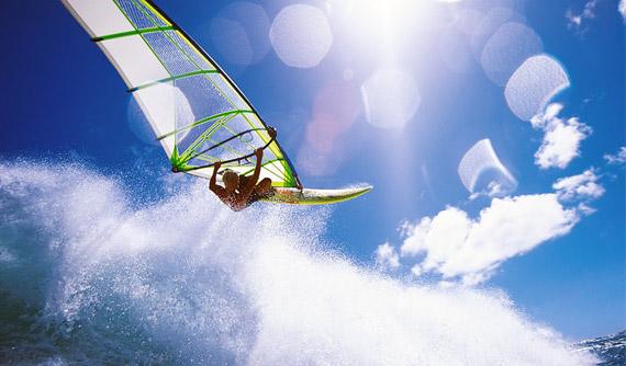 Windsurf extremo en Maui