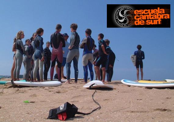 Escuela Cantabra de Surf, en Surfdestiny.com