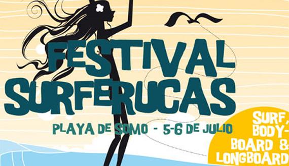 Llega a Cantabria el festival Femenino Surferucas