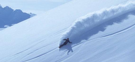 Snowboard extremo, un pequeño y entretenido video