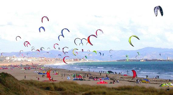 Kitesurf Tarifa: Los vientos del estrecho