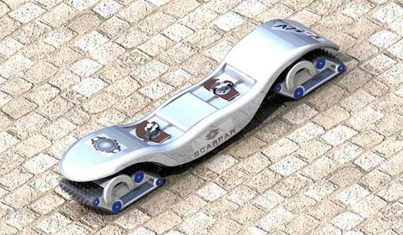 Scarpar, el nuevo vehículo deportivo